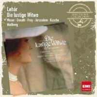 WALLBERG/MOSER/JERUSALEM/PREY - DIE LUSTIGE WITWE 2 CD OPERETTE NEW+ LEHAR