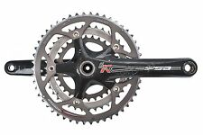 FSA SL-K Carbon Crank Set 50/39/30T 175mm 130BCD 10 Speed Road Bike