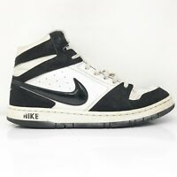 Nike Mens Prestige IV 584614-100 Black White Basketball Shoes Lace Up Size 11.5