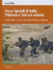 FORZE SPECIALI  DI INDIA PAKISTAN SUD EST ASIATICO guerre contemporanee RBA 2012