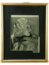 Jean Harlow Framed Signed Photo Lot 108