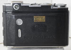 Zeiss Ikon Super Ikonta folding rangefinder (B) (532/16) from Curacao D.W.I.