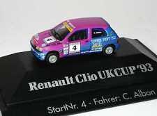 1:87 Renault Clio 16V Ukcup 1993 Davies Nr.4, C. Albon - Herpa 035910
