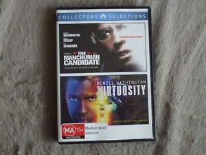 Denzel Washington 2 Movie - 2 Disc DVD Set -