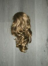 Hair Extension Ponytail Claw like Real As Human hair ash brown highlights-14""