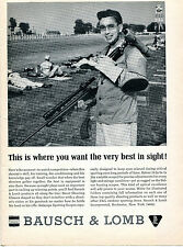 1965 Print Ad of Bausch & Lomb Decot Shooting Glasses at Camp Perry Ohio