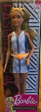 New 2018 Barbie Doll Fashionistas #108 Blonde Fanny Pack High Pigtails
