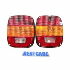 Jeep Wrangler Yj Set Luci Posteriore Luce Fanale Euro Sinistra Destra 87-95