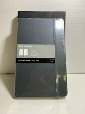 Moleskine Leather Notebook Large Ruled Blue Boxed Edition BNIB