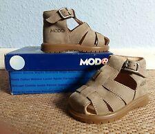Superbe MOD 8 garçon sandale cuir-taupe-taille 25 - 037481!!!