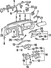 Genuine Toyota Cluster Trim 55405-14140