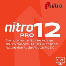 🔥 NITRO PRO 12.1 PDF Enterprise ✅ Viewer Creator Editor 🔥 LIFETIME ACTIVE  🔑