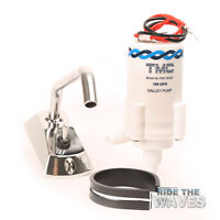Caravan Boat Motorhome Galley Electric Pump With Chrome Tap 12v
