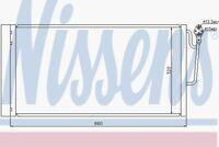 Nissens Condenser 940118 Fit with Mini Mini
