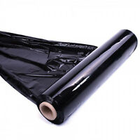 1 X STRONG ROLL BLACK PALLET STRETCH SHRINK WRAP CAST PARCEL PACKING CLING FILM