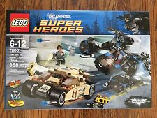 LEGO Batman Bat vs Bane Tumbler Chase 76001 Set NEW in Box Sealed Retired car