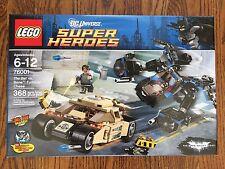 LEGO Batman Bat vs Bane Tumbler Chase 76001 Set NEW in Box Sealed Retired car