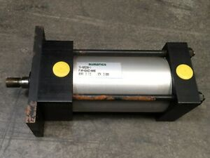"Numatics A Series F1AM-03A2C-AAA0 Pneumatic Air Cylinder 2-1/2"" Bore 3"" Stroke"