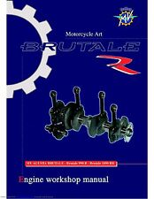 MV Agusta Service Engine Manual  2011 Brutale 990 R & Brutale 1090 RR