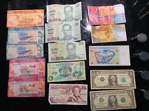 Banknotes collections bulk lots Various Inc Suisse Swiss Francs 30