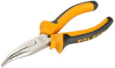 "Bent Nose  Pliers / Snips  ,Diagonal Side  Wire Cutters 6"" (160mm)  TOLSEN"