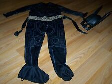 Size Small 4-6X Batman The Dark Knight Costume Jumpsuit & Mask GUC
