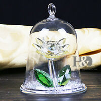 Light Yellow Crystal Sunflower Hanging Glass Home Decor Mother Day Gifts Decor