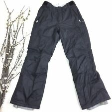 Karbon Women Size 8 Black Insulated Ski Snow Snowboard Pants 4D