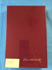 NO COUNTRY FOR OLD MEN - SIGNED LIMITED EDITION BY CORMAC MCCARTHY