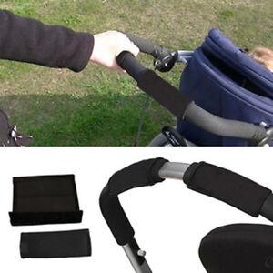 Pair of Universal Stroller/Pram/Buggy/Pushchair Single Bar Handle Covers
