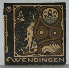 Wendingen, art deco magazine 1923 no.5/6, Joseph Mendes da Costa, dutch sculptor