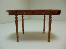 Dollhouse Miniatures Furniture 1/12: 13018wn Four Drawer Table