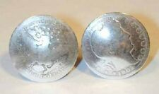 Coin Jewelry~Antique Silver Barber Quarter cufflinks