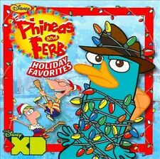 Phineas and Ferb Holiday Favorites by Phineas and Ferb/The Cast of Phineas and …
