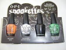 OPI HOLLOWEEN SPOOKETTES BOO/MUMMY/WEREWOLF & ZOM-BODY MINI LACQUER SET