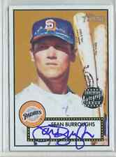 2001 Topps Heritage Certified Autograph Sean Burroughs