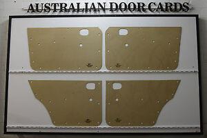 MAZDA RX2 616 / 618 Door Cards. Suit Sedan & Wagon. Blank Trim Panels
