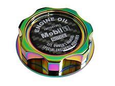 NEOCHROME MOBIL 1 M7-STYLE JDM BILLET ENGINE OIL FILLER CAP FOR HONDA ACURA CF