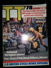 Isle of man TT 1978 - Motorcycle News Special