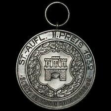 SCHÜTZEN: Silber-Medaille 1932. SCHÜTZENVEREIN HORNEBURG / NIEDERSACHSEN.