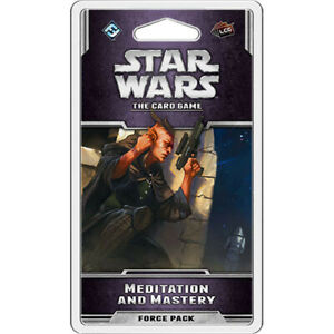 Star Wars The Card Game Meditation and Mastery Force Pack / Expansion FFG LCG
