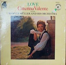 CATERINA VALENTE: Love-NM1972LP GATEFOLD UK PRESSING/US RELEASE
