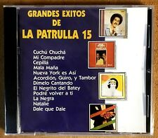 JOSSIE ESTEBAN Y LA PATRULLA 15 - GRANDES EXITOS - CD