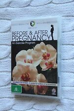 Before and After Pregnancy: An Exercise Program(DVD, brand new, free posatage)