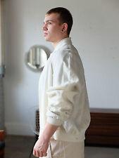 PANCALDI J.G. Mayer Leinenjacke Blouson Jacke jacket Leinen 90er True Vintage