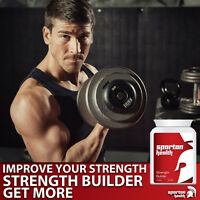 SPARTAN HEALTH Strength Builder for Muscle Building-rapid growth- NOT Steroids