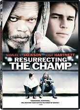 DVD - Drama - Resurrecting the Champ - Samuel L. Jackson - Josh Hartnet