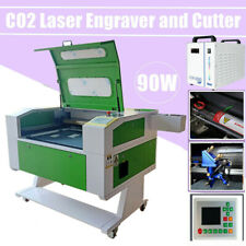 Usa 20 X 28 90w Co2 Laser Cutter Engraver With Pass Door Amp Electric Lifting