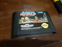 Arch Rivals (Sega Genesis, 1992) Cartridge only - Tested!!