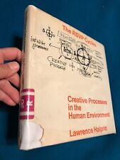 The RSVP Cycles- Hardcover Book With Poor Dust Jacket-Lawrence Halprin 1969